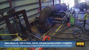 60 Inch Hydraflo Hydraulic Axial-Flow Pump Testing