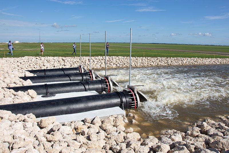 Governor Ron DeSantis Activates C-44 Stormwater Treatment Area with MWI Pumps