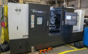 Pump Parts Cycle Time Reduced by 85% due to new CNC