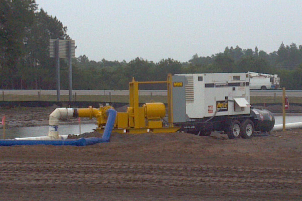 Duraflo pump on site