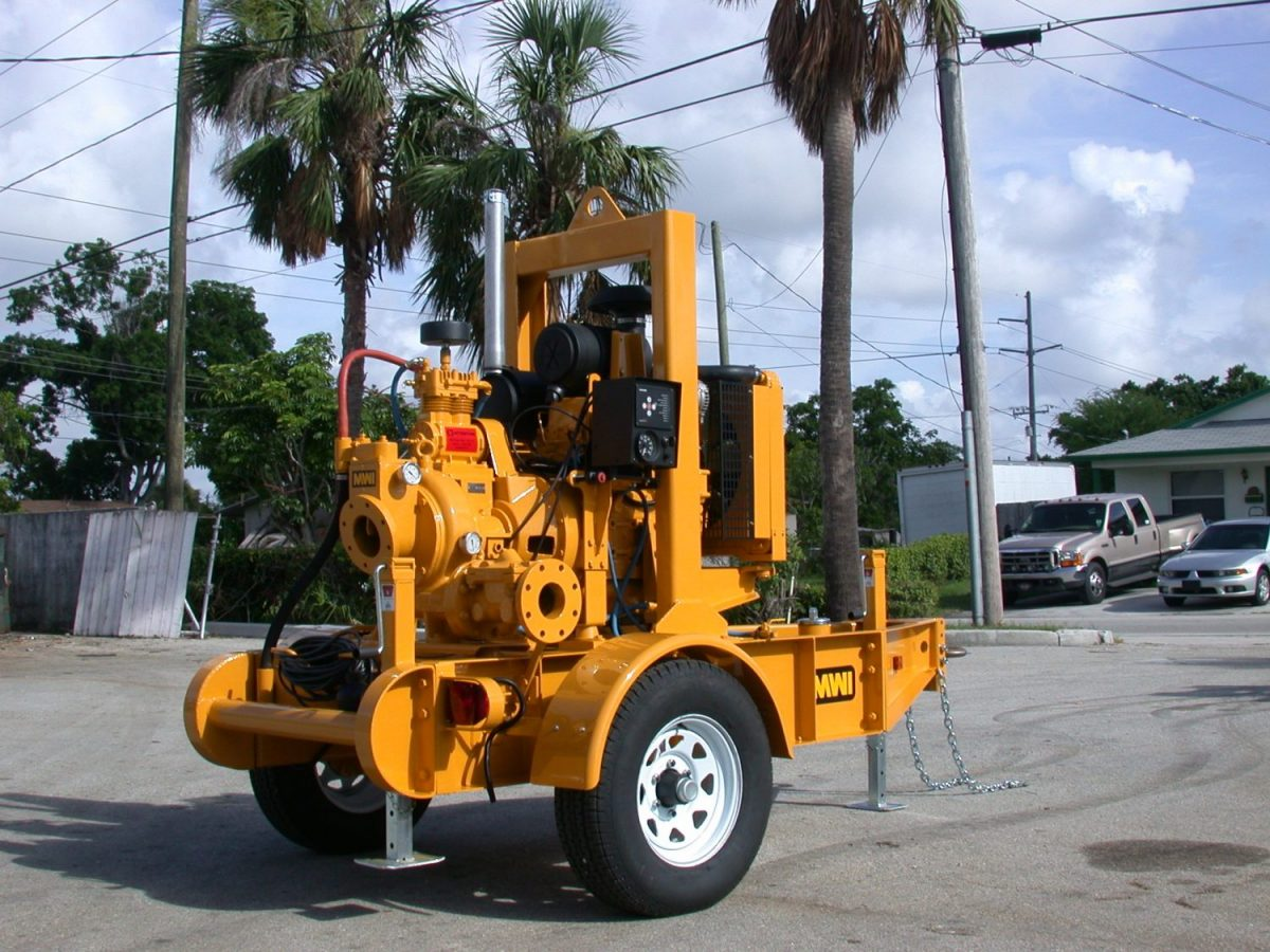 How Much Horsepower Do Pump Engines Need?
