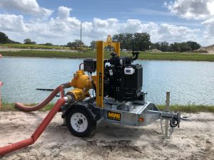 Performance In A Small Package – Eco 4 Self-Priming Trash Pump