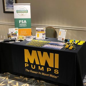 MWI Pumps at FLAGFA Spring 2021 Expo