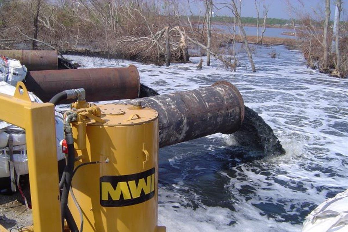HNC pumping water