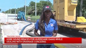 Martin County Emergency Management Prepares Hobe Sound for Hurricane Isaias with MWI Flood Control Pumps