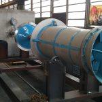 Lineshaft pump indoors