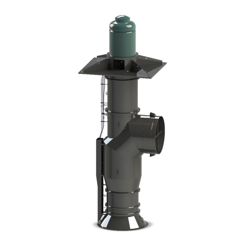 Lineshaft vertical pipe