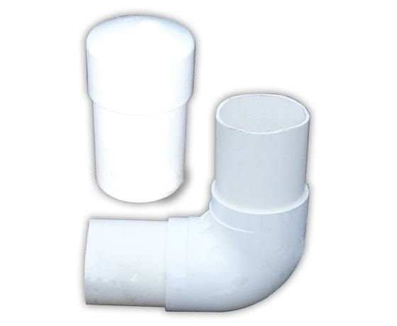 Header pipe fittings