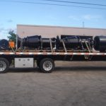 Submersible electric on trailer