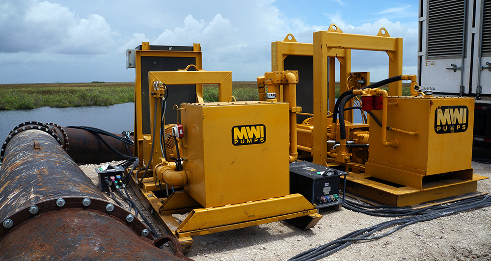SFWMD MWI Bypass Pumps Electric Drive Units
