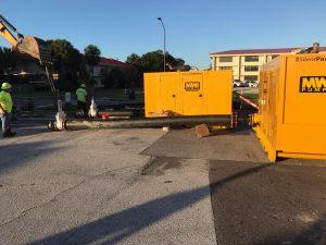 Sewer bypass macdill