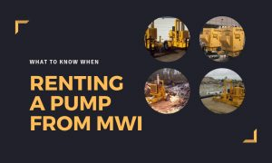 What to Know When Renting A Pump From MWI