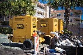 Construction Dewatering MWI Pumps