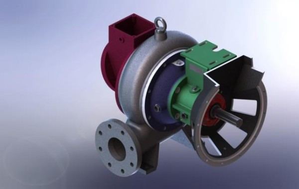 3D Pump render MWI pumps