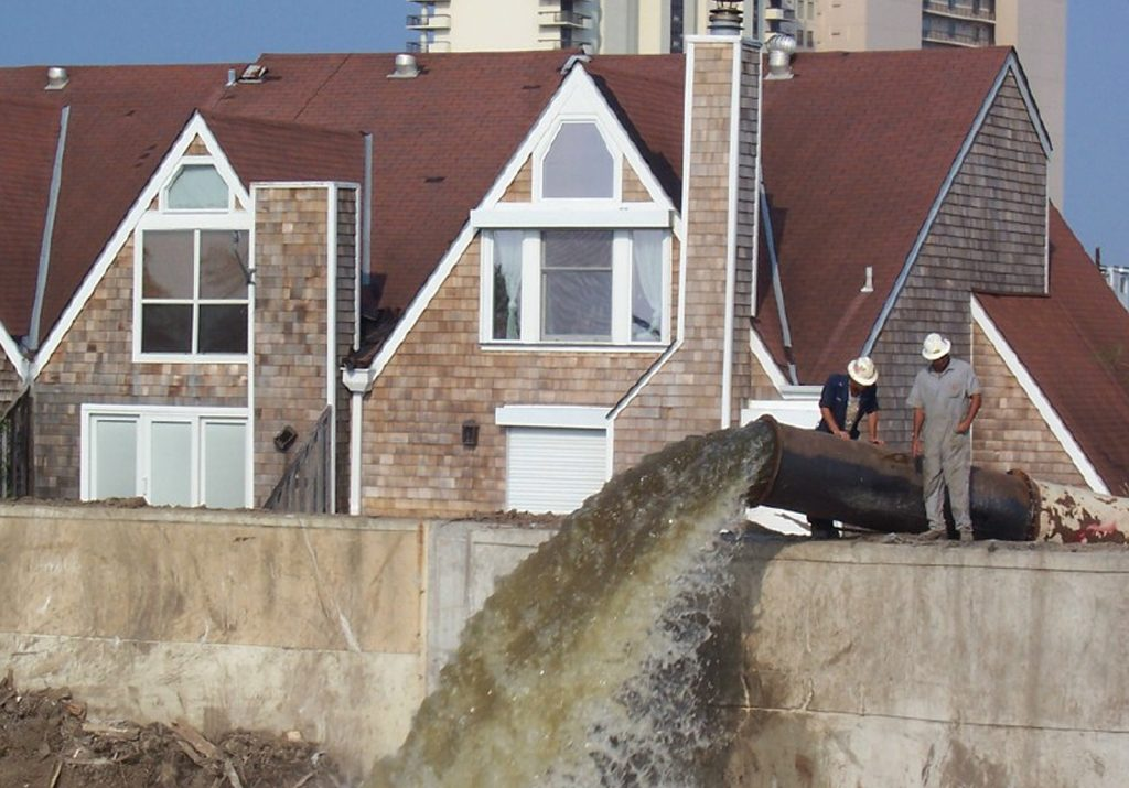flood control residential pump