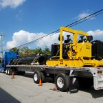 Hydraflo on truck trailer