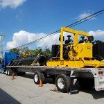 Hydraflo on truck trailer