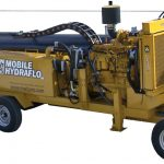 Mobile Pump Hydraflo MWI Outside on Wheels