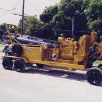 Mobile Pump Hydraflo MWI Outside on Wheels