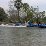 Flooding Water Pumps Moving Water
