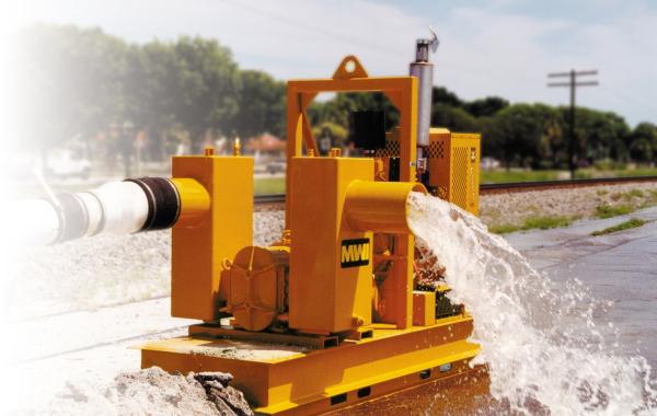 Rotoflo Pumping water