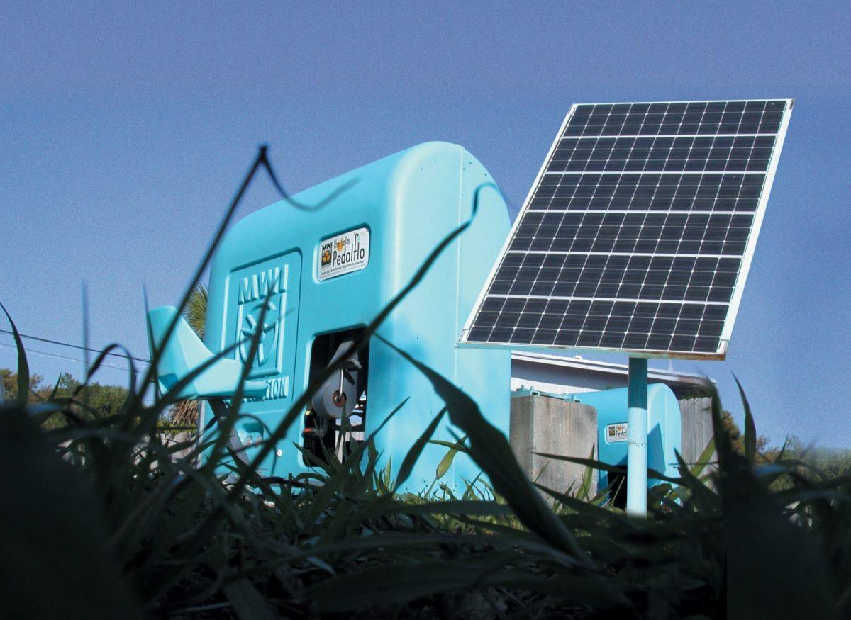 MWI Solar Pedal Flow Outside Pump