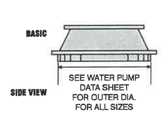 Vertical intake stand diagram