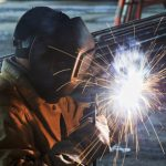 Welder Pumps MWI worker